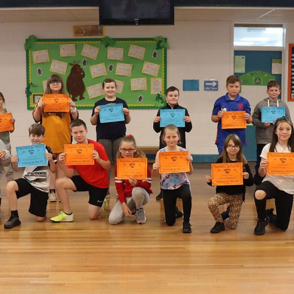 Sharing Assembly/Spelling Certificate Presentation 2nd July 2021